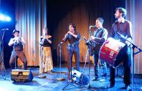 MWE performing at Opa Tsupa! festival in Vancouver, BC