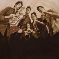 """Second Wind"" album cover by Calvin Lai- calvinlaiart.com"